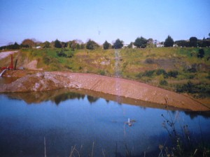 1998 photo - water is approx 2 metres above water table